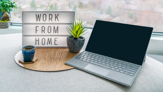 Dwain McDonald talks about working from home